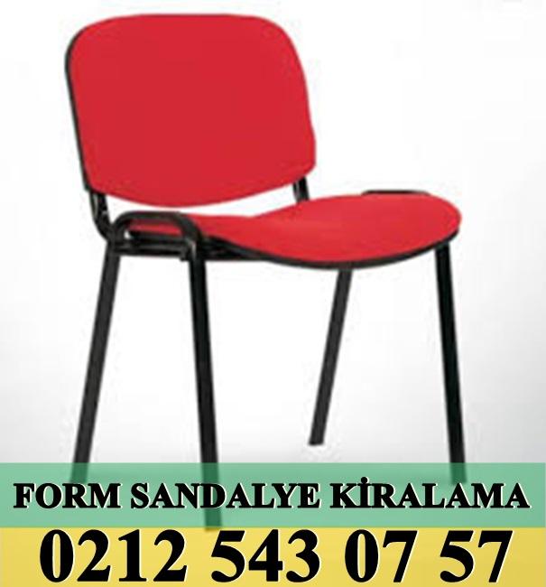 Form Sandalye kiralama