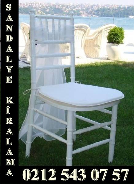 Büyükçekmece sandalye kiralama